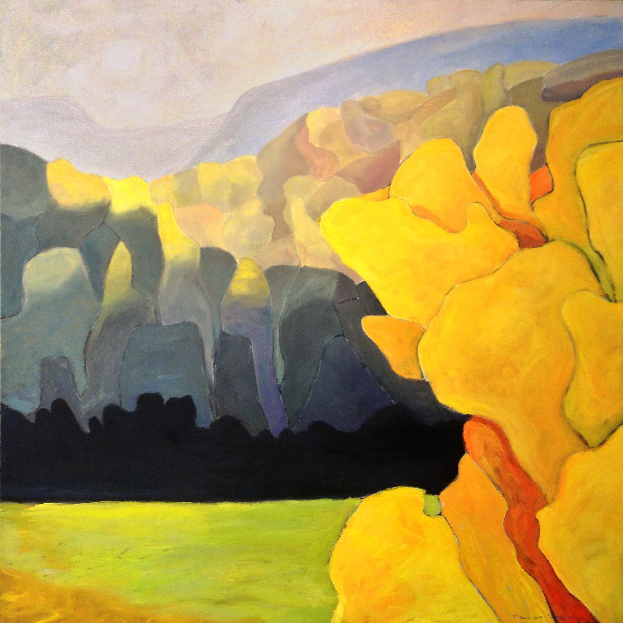 54 x 54 - acrylic on deep edge canvas